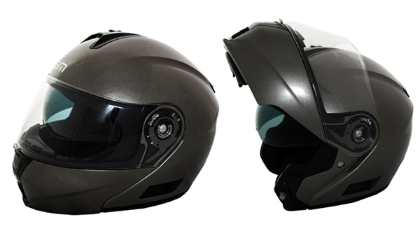 Helm systeem Openit LEM - antraciet metallic