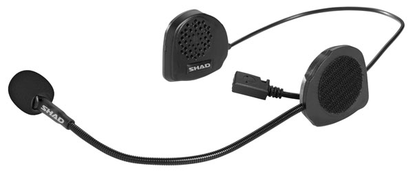 Bluetooth intercom voor Telefoon, GPS en MP3 - Universeel - Shad