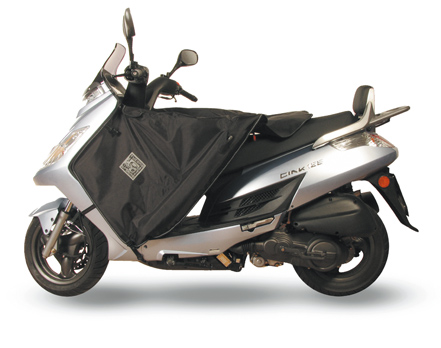 Beenkleed thermoscud Kymco Grand Dink/New Dink 50/125cc vanaf 2006 - Tucano